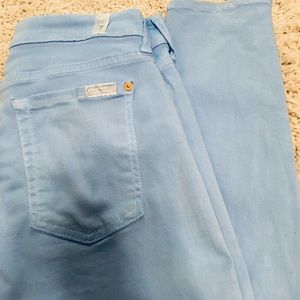 Seven For All Mankind Blue 5 Pocket Style Pants